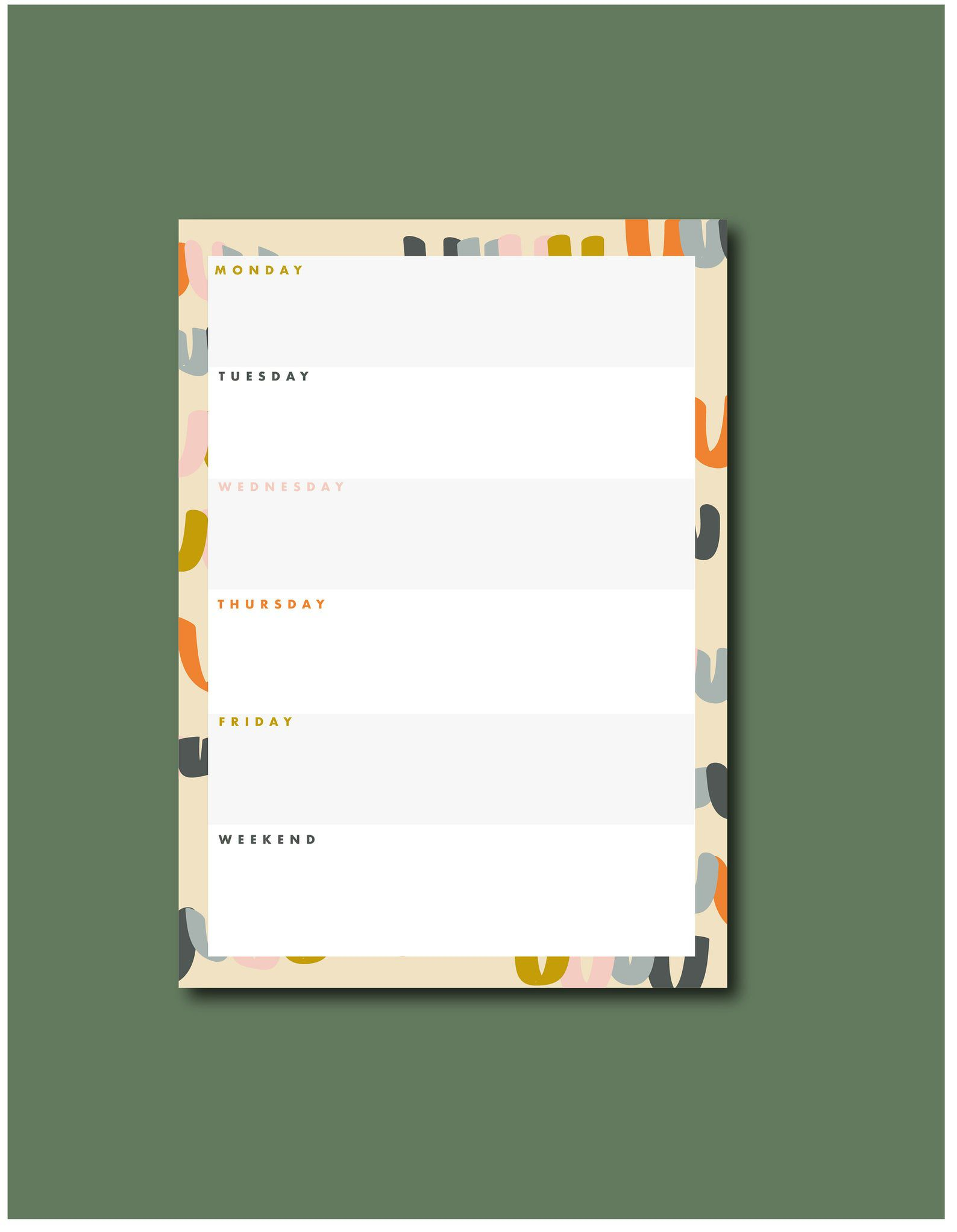 GodlyGorgeous Happy Illustration Notepad