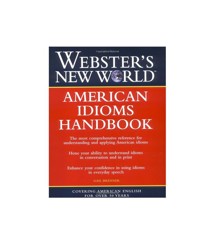 Manual Webster's New World American Idioms por Gail Brenner