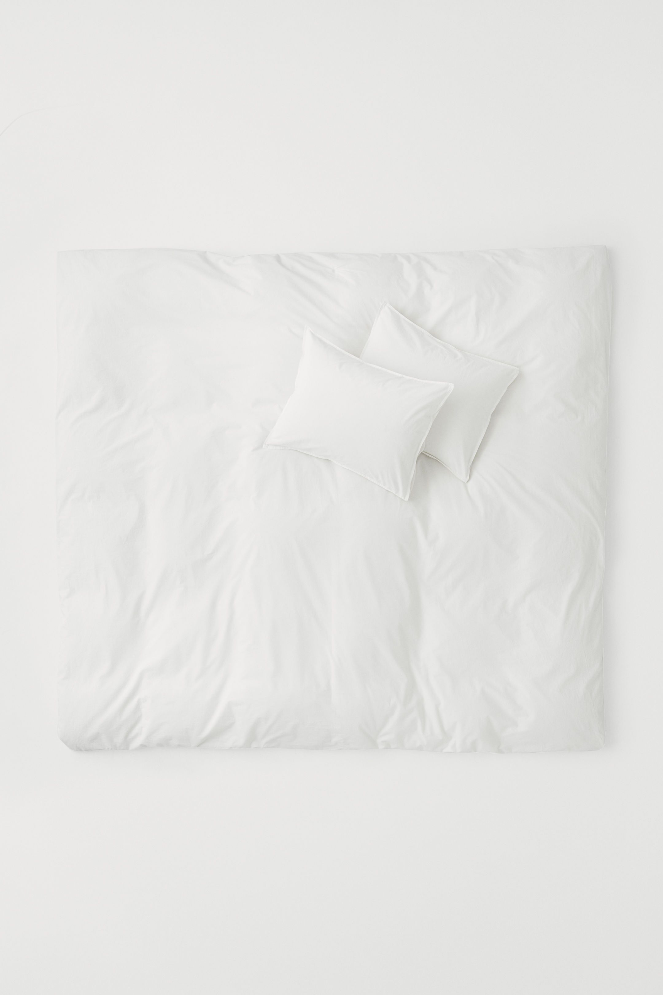 H&M Home Cotton Poplin Duvet Cover Set