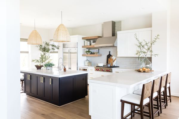 pure salt interiors home tour - kitchen