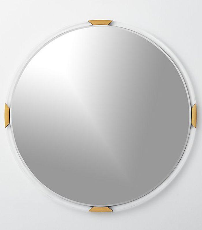 Demi Round Acrylic Mirror 36