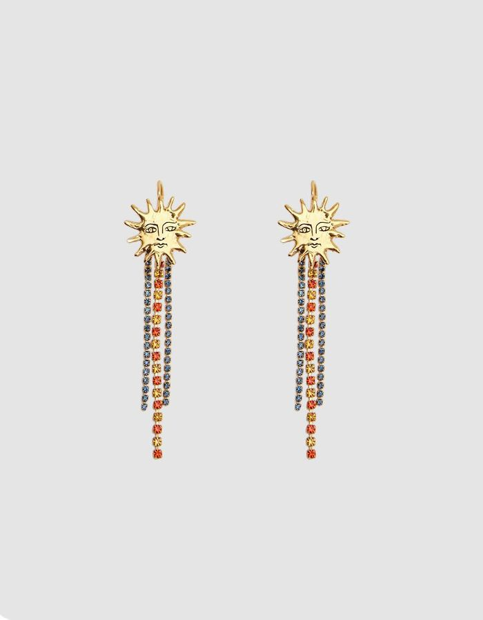 Supernova Gold Soleil Earrings