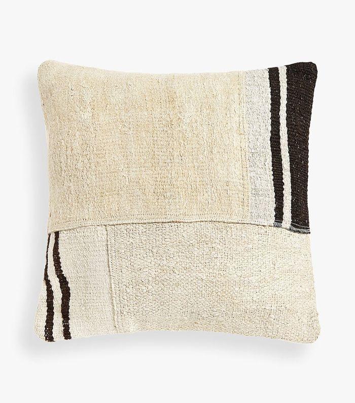 Zara Home Burlap-Style Pillow Cover