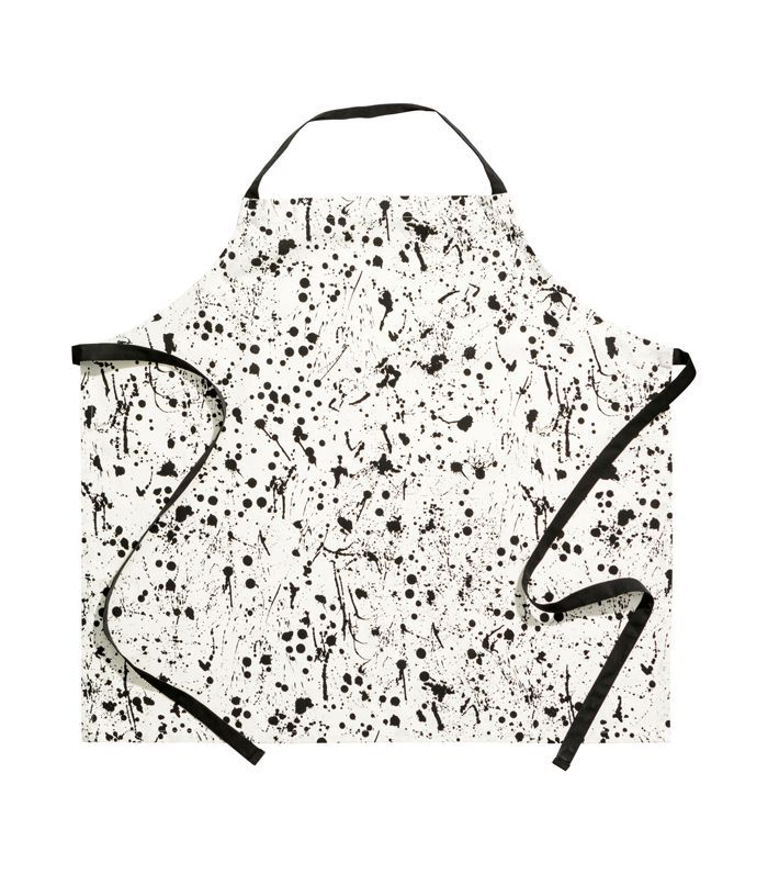 - Patterned Apron - White/patterned - H & m Home
