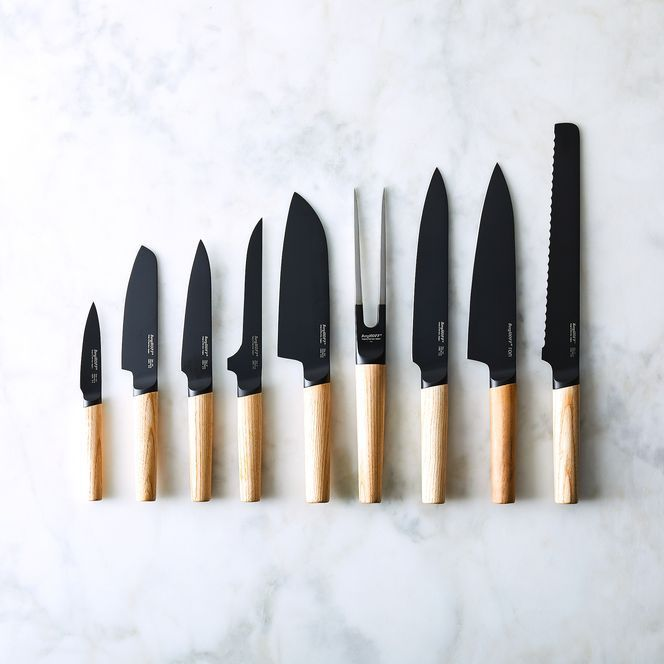 Food52 Modern Matte Black Knife Collection