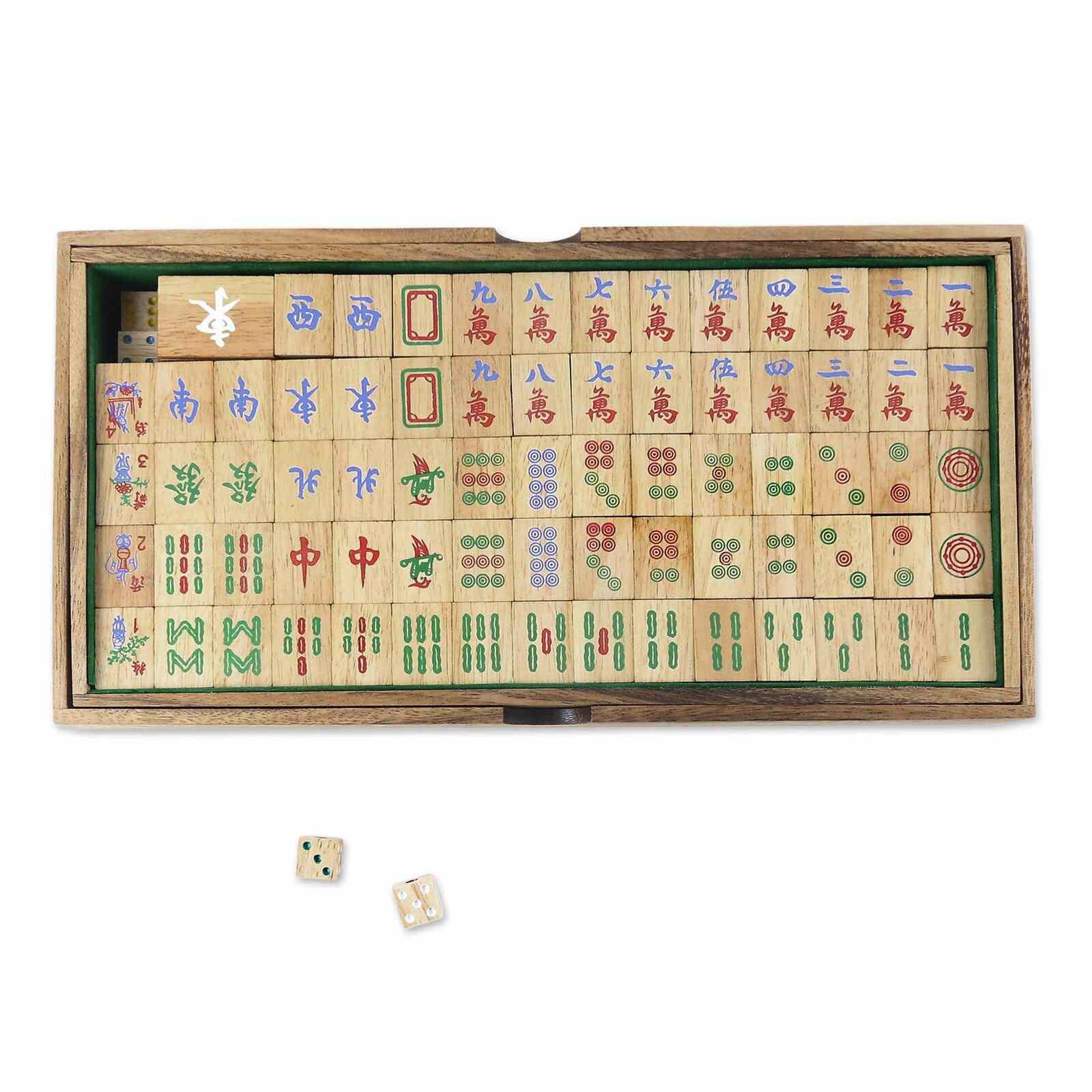 Arlmont & Co. Willingham Handmade Mah Jongg Game