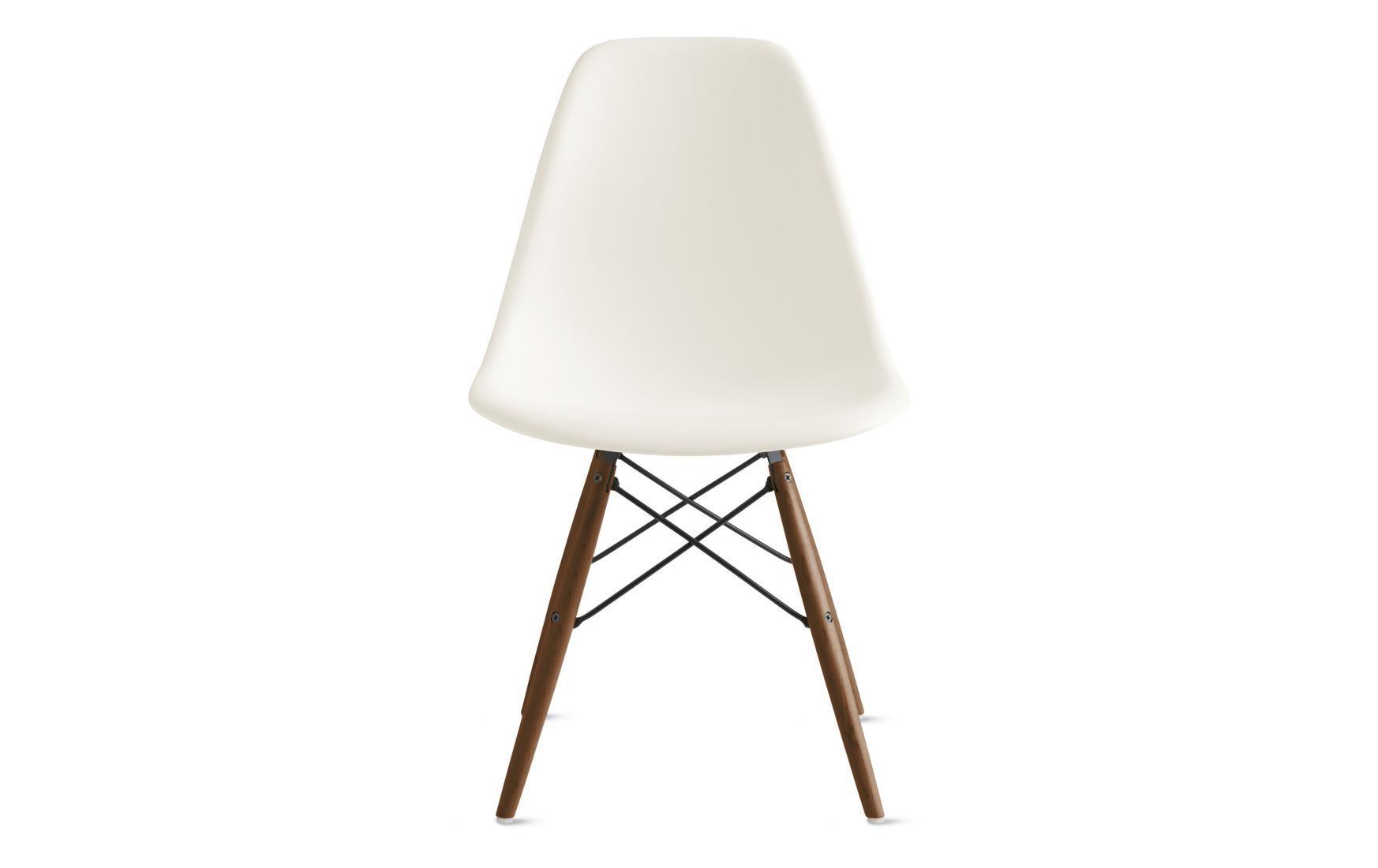 Molded Plastic Dowel-Leg Side Chair