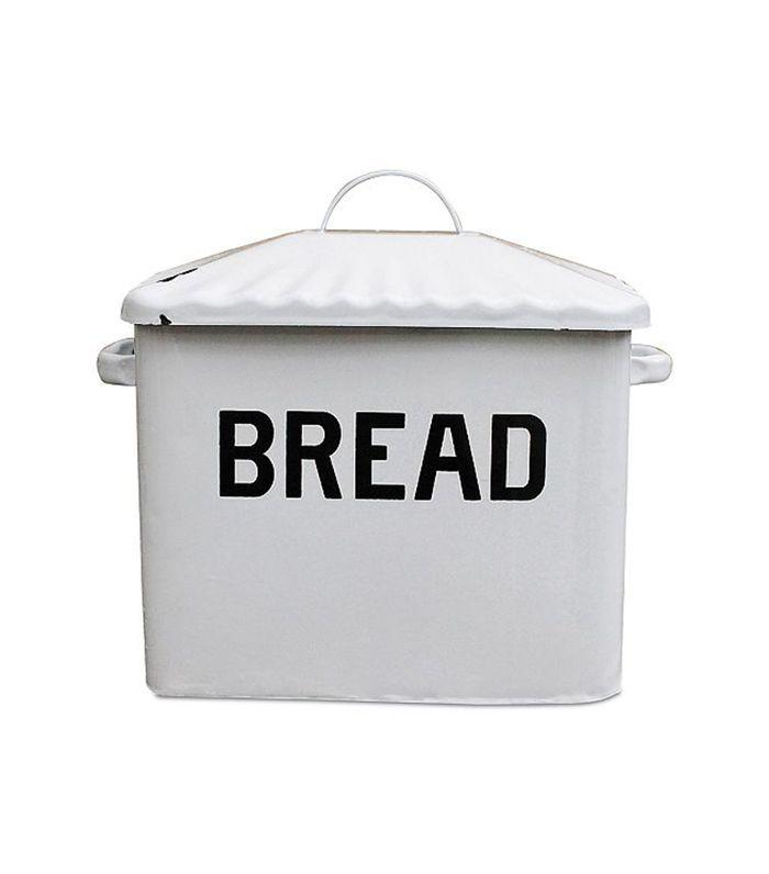 3R Studio Enameled Metal ''Bread'' Box