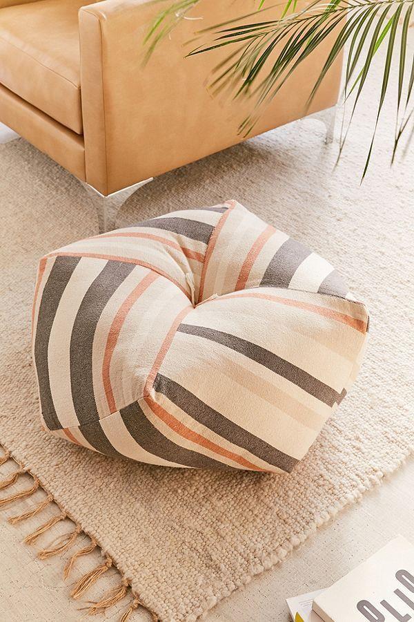Serape Stripe Floor Pillow
