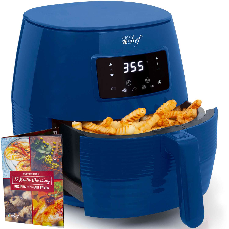 Deco Chef 5.8 Quart Electric Air Fryer