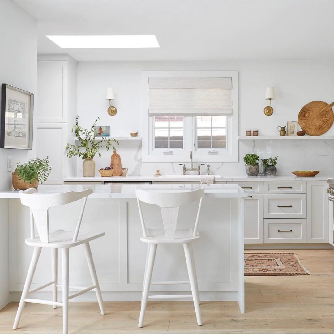 50 Beautiful Spaces That Prove White Kitchens Will Never Go Out of Style