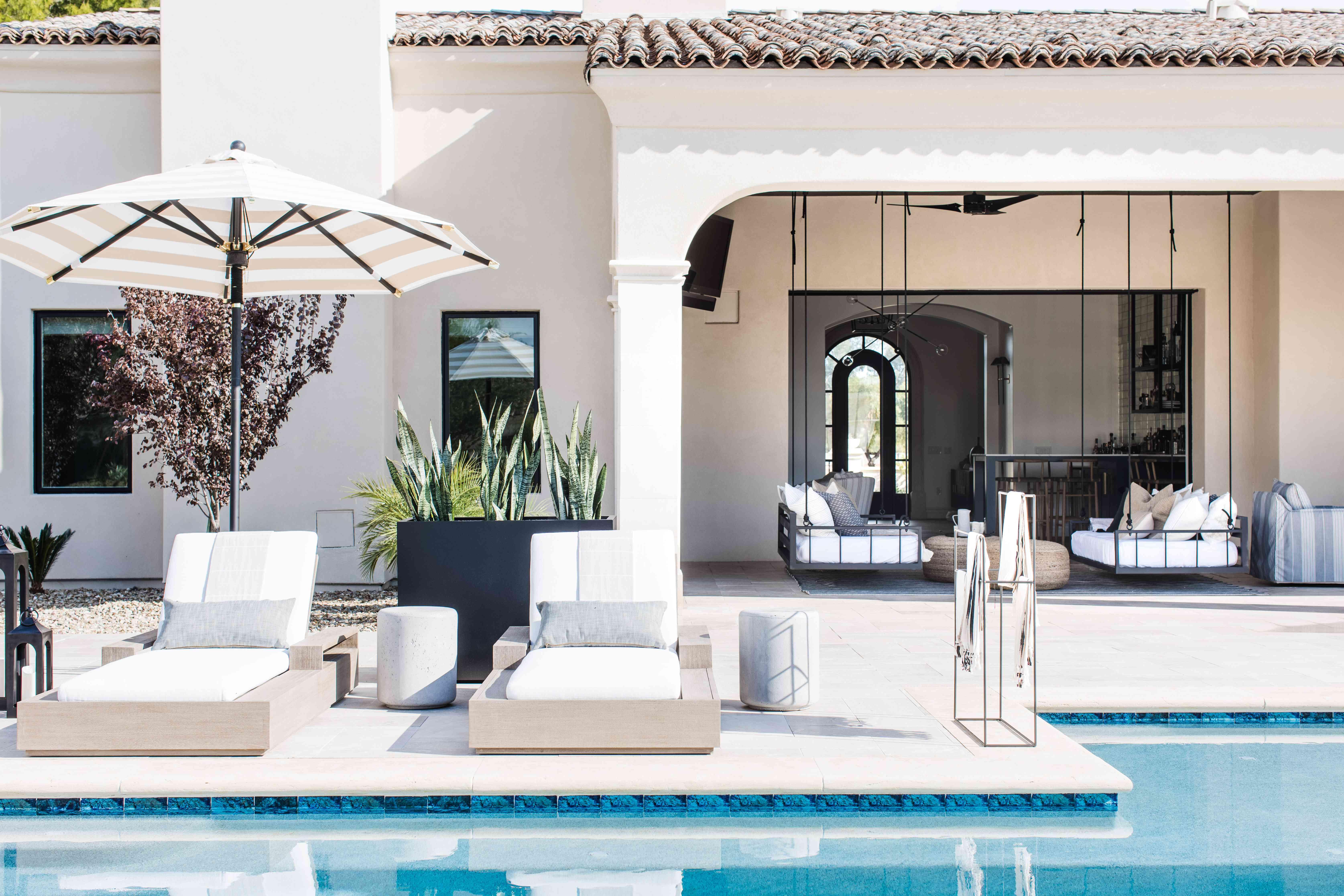 arizona home tour - pool