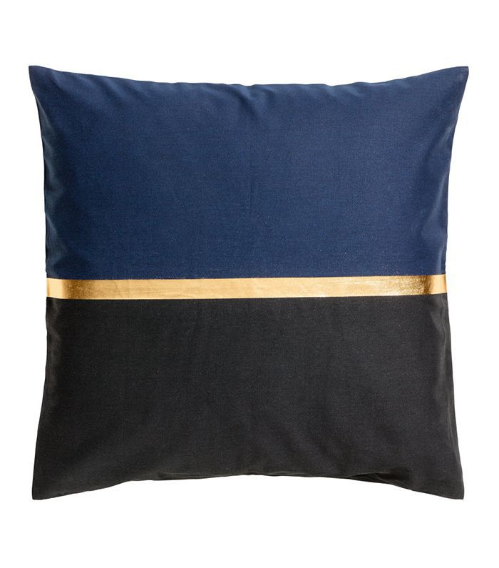 Color-block Cushion Cover