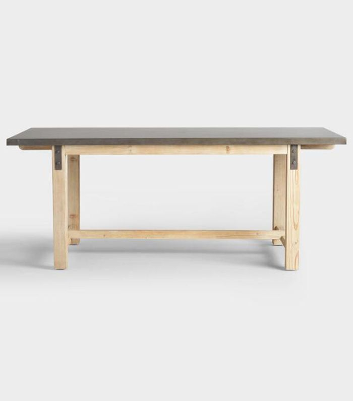 Metal Top Wyatt Dining Table by World Market