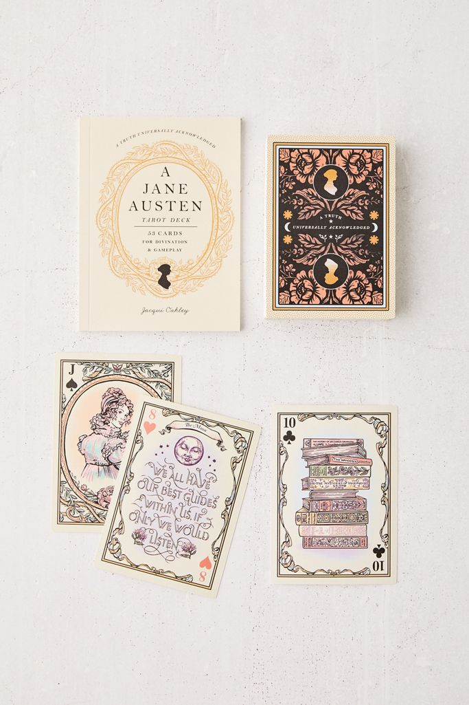 Jacqui Oakley A Jane Austen Tarot Deck: 53 Cards for Divination and Gameplay
