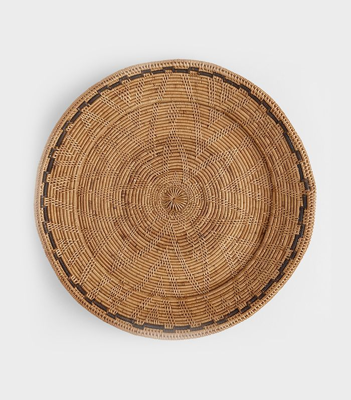 Natural Rattan Balinese Woven Tray by World Market