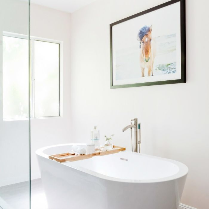The 17 Best White Bathroom Ideas According To A Designer