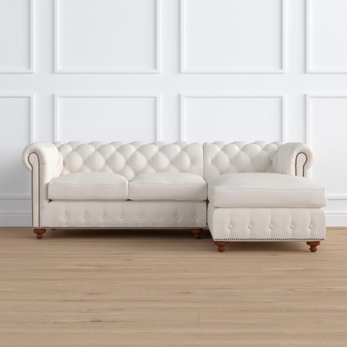 Barrow Chesterfield 2-pc. Chaise Sectional