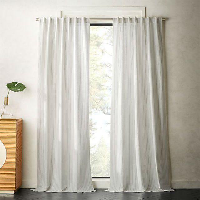 Pinstrip Curtain Panel