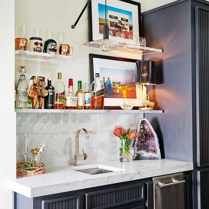 como decorar un bar