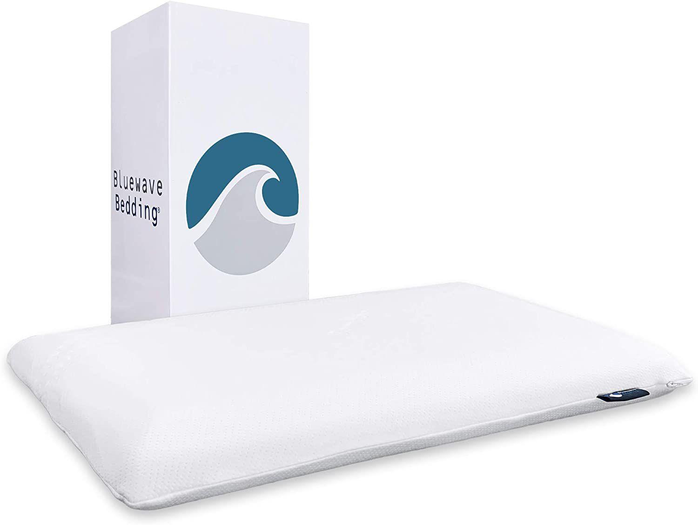 Ultra Slim Gel Memory Foam Pillow