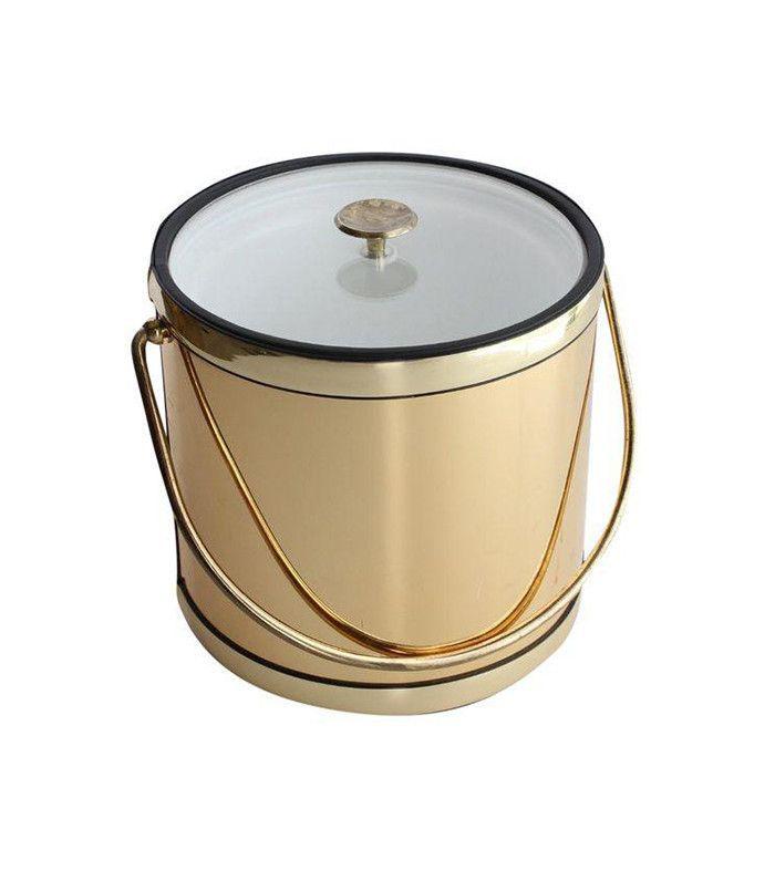 Chairish Gold Ice Bucket
