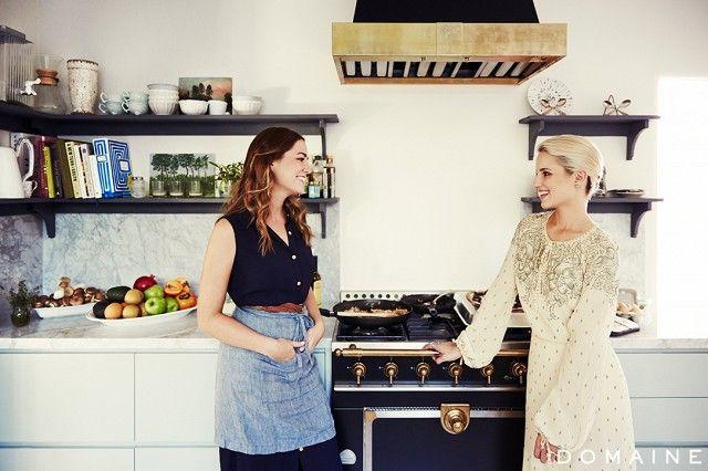 Diana Agron's kitchen