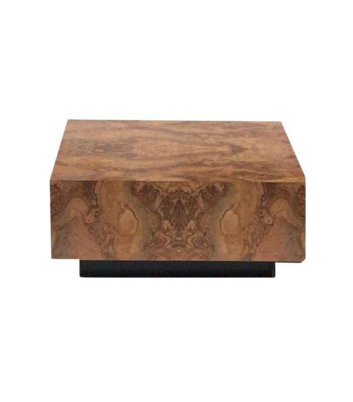 Burl Wood Furniture Is The Design Trend
