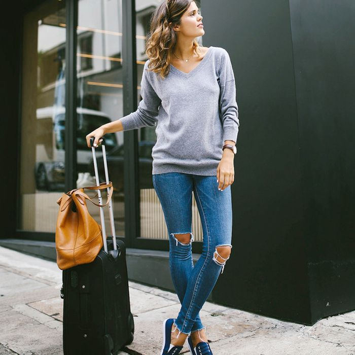 cb74968b6ad Wondering What to Wear on a Plane  8 Travel Editors Weigh In