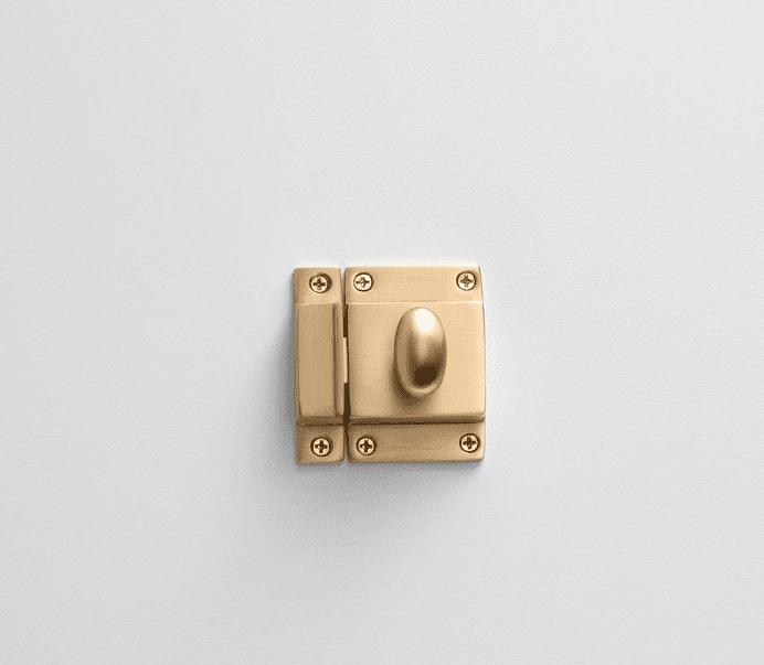 Latch cabinet hardware