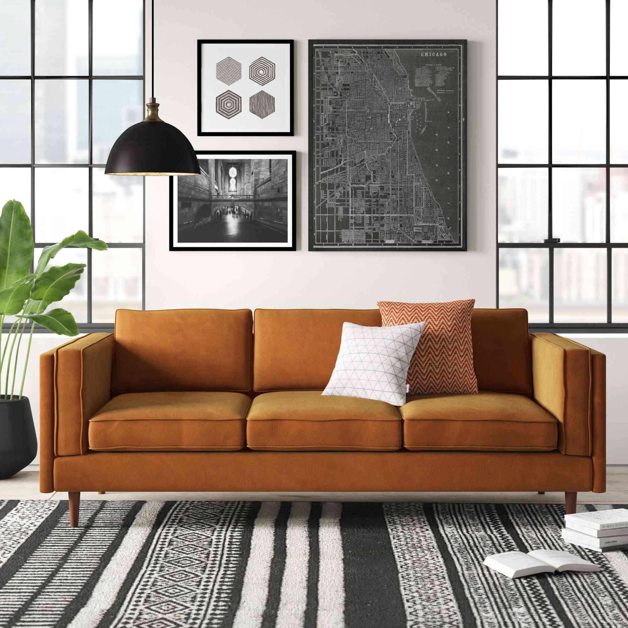 AllModern sofa living room