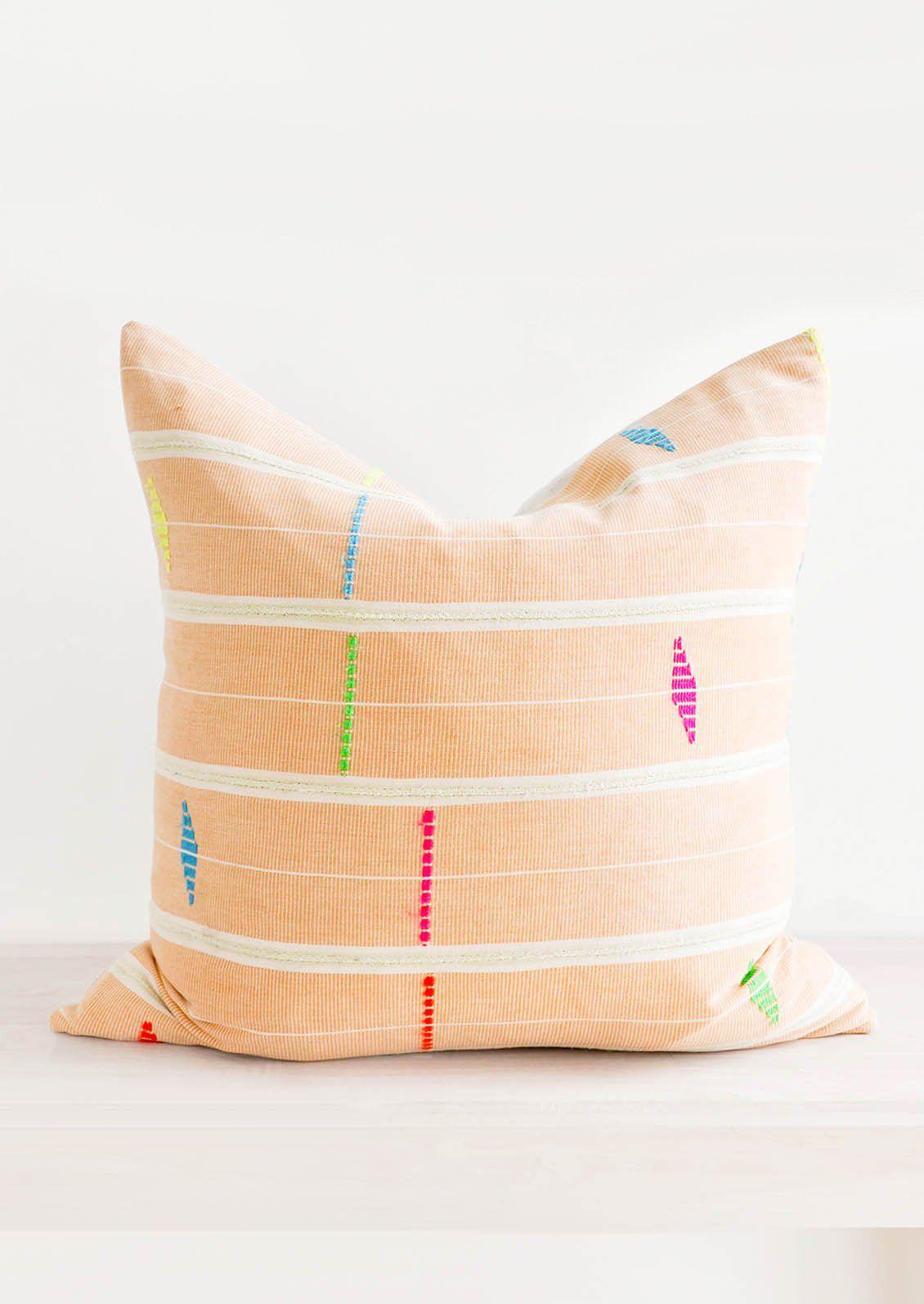 Leif Fluoro Strip Cloth Pillow