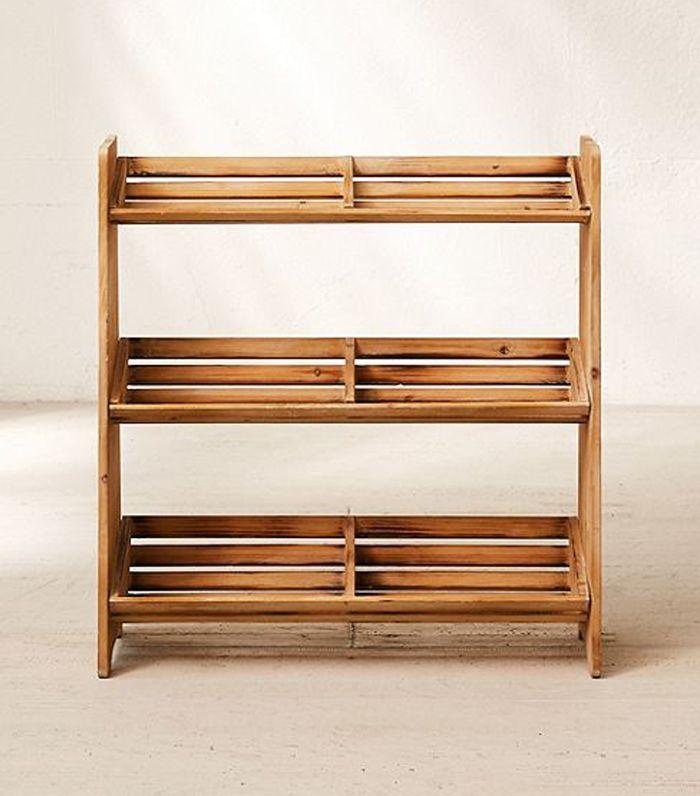 Sasha Wooden Shoe Storage Rack