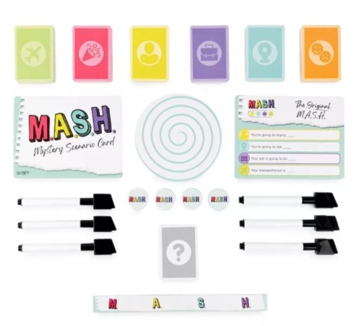 Spin Master Games MASH Fortune Telling Adult Party Game