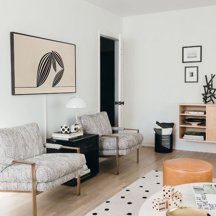 Modern Yet Inviting This Is The Living Room Of Our Dreams