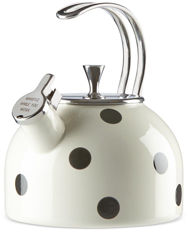 Kate Spade Deco Dot Tea Kettle