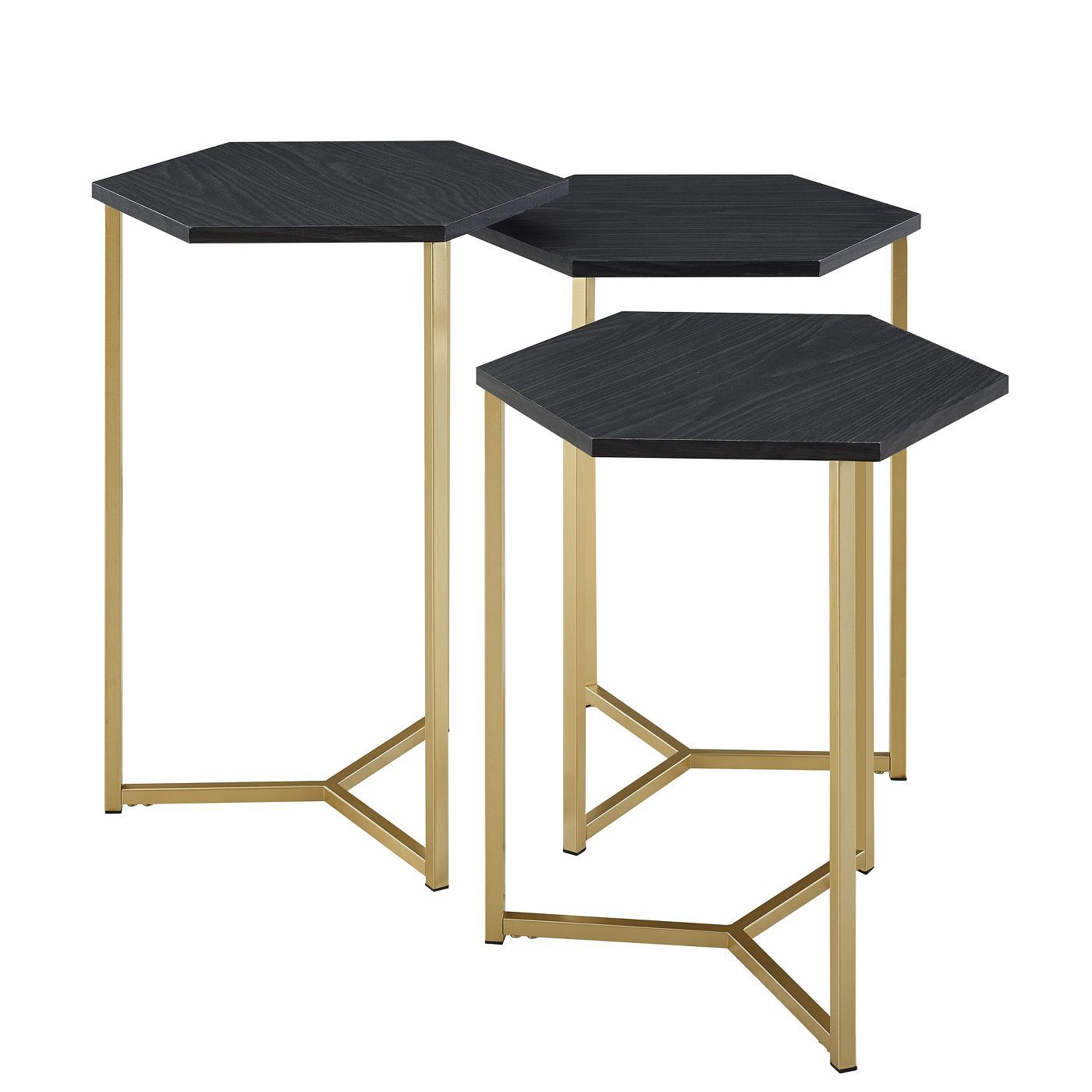 gray nesting tables