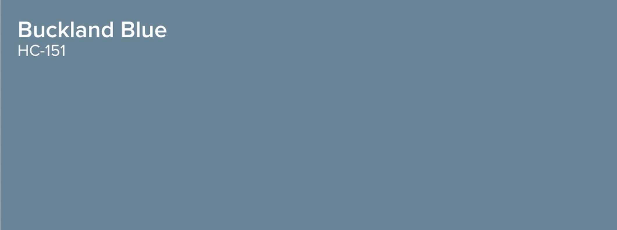 Buckland Blue sample
