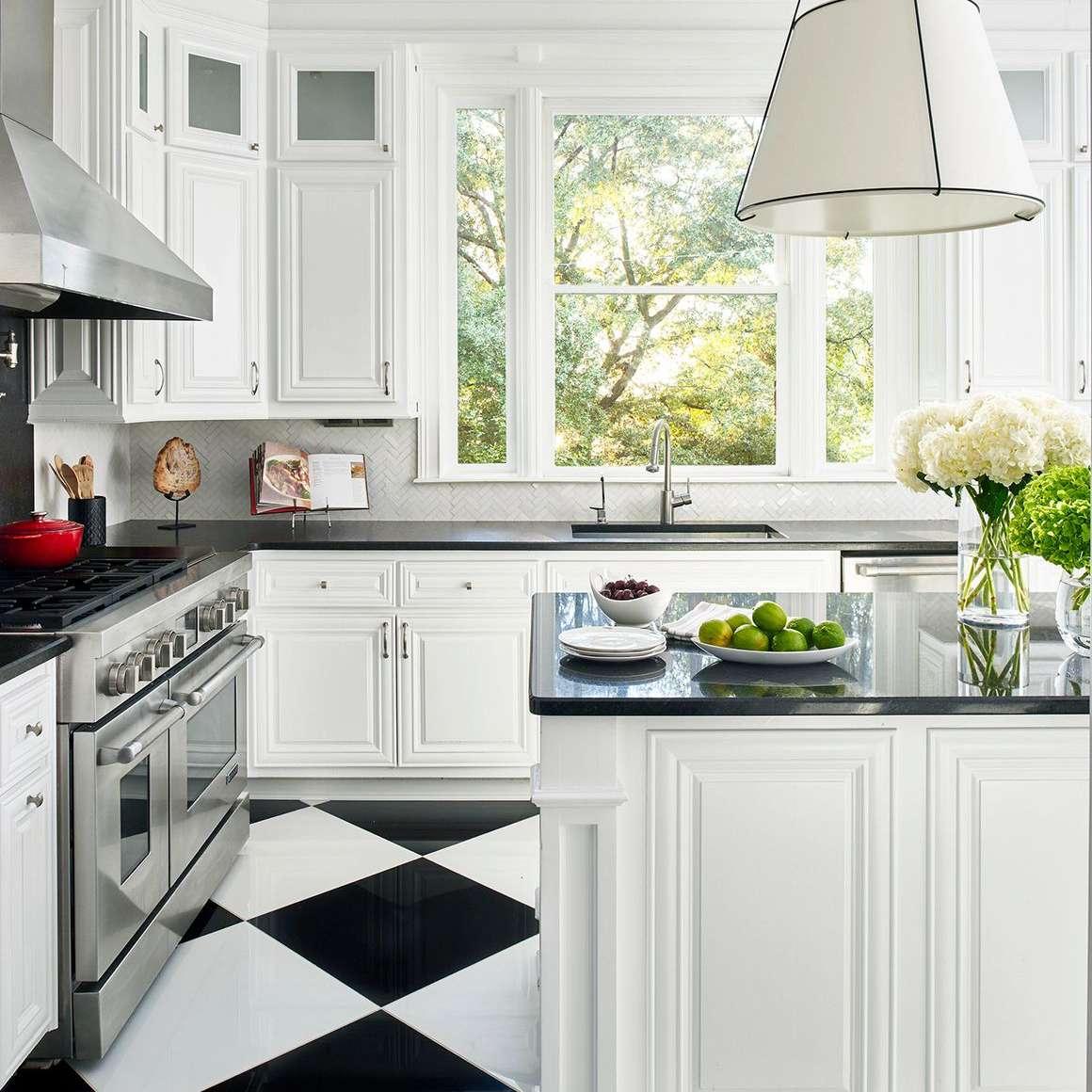 tile simple kitchen design