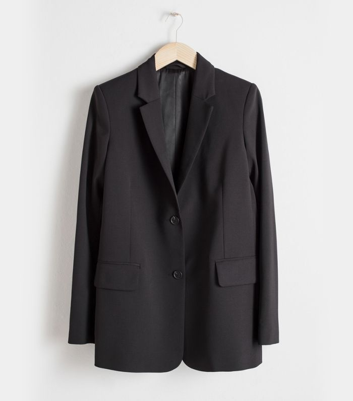 & Other Stories Wool Blend Blazer