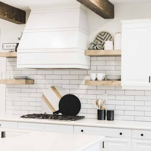 exposed beams kitchen