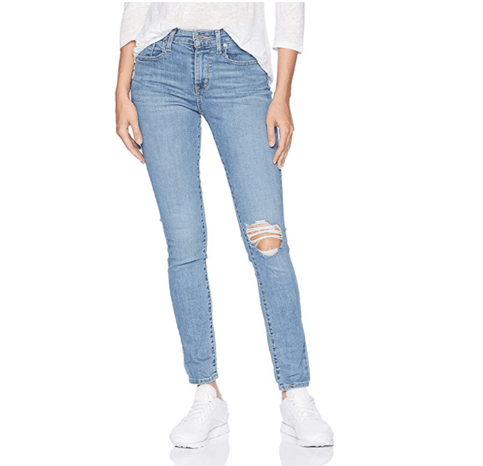 Women's 721 High Rise Skinny Jeans, Distant Landscape, 31 (US 12) R