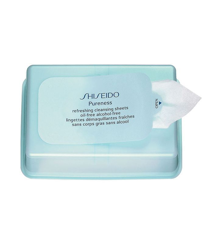 Shiseido Pureness Refreshing Cleansing Sheets Oil-Free Alcohol-Free