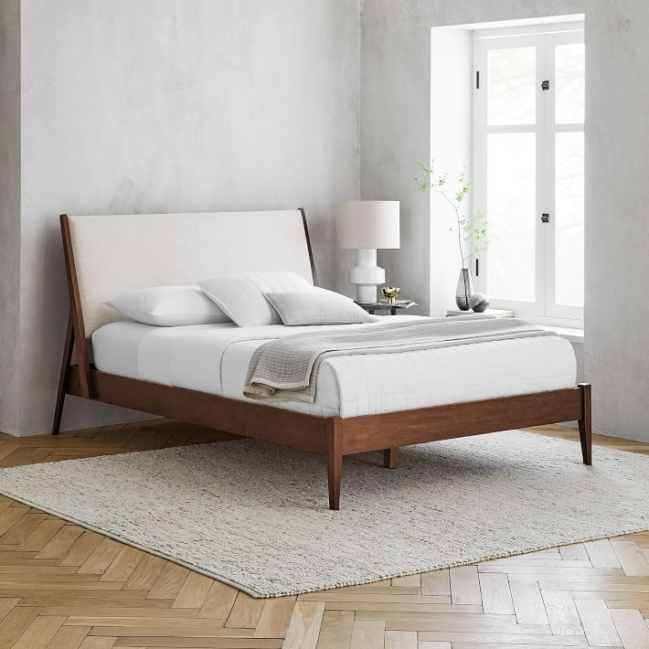 West Elm Wright Upholstered Bed