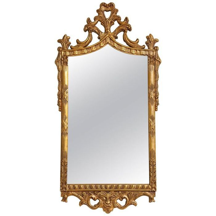 1stdibs Carved Italian Gilded Mirror