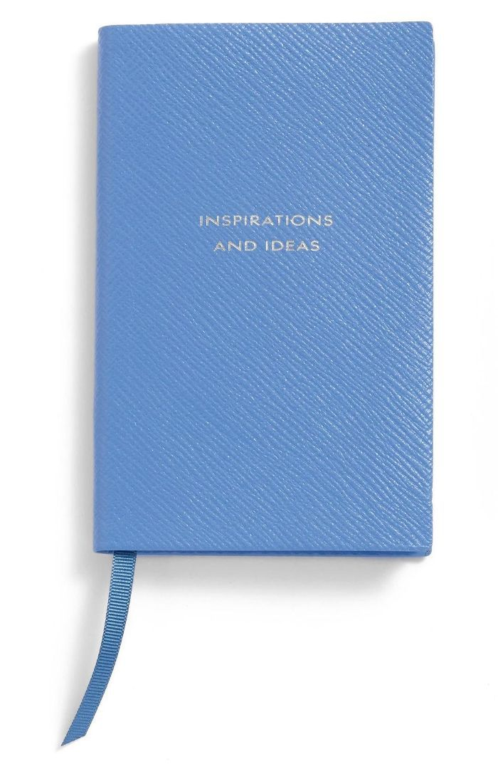 Smythson 'Inspirations And Ideas - Panama' Pocket Notebook Gratitude Journaling