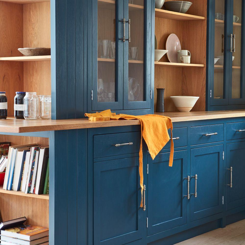 Blue cupboards