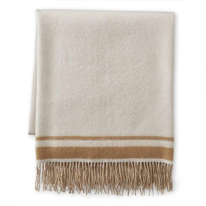 Double Face Cashmere Throw