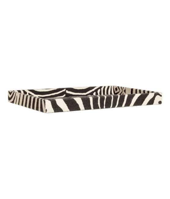 Zebra-print Tray