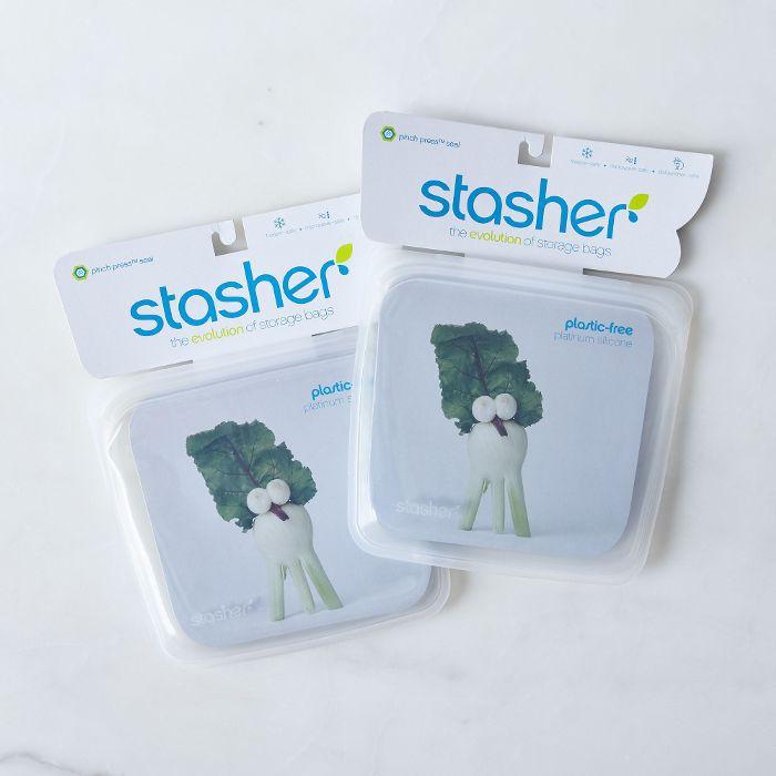 Stasher Reusable Silicone Storage Bags